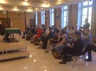 Rencontre Ajir: Le nonce apostolique a rencontré l'Ajir en septembre 2020